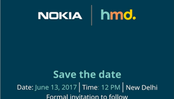 Nokia hmd global india launch nokia android smartphones june 13 hmd sends invite for nokia 3 5 and 6 launch event in india on june stopboris Choice Image
