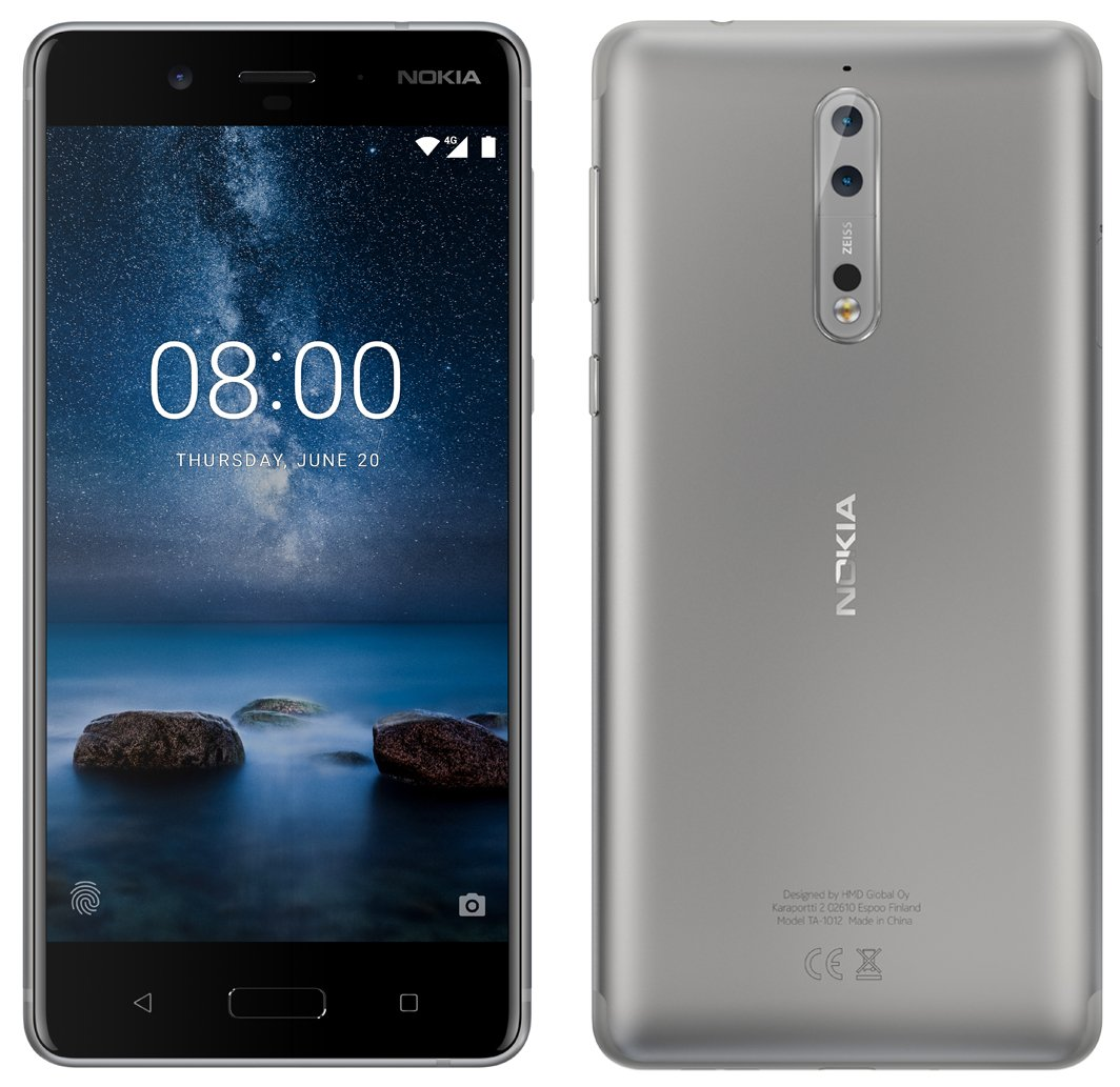 Nokia 8 with Zeiss Cameras Could Debut This Month
