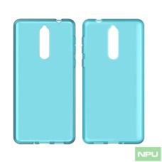 Nokia 9 Transparent-case Blue