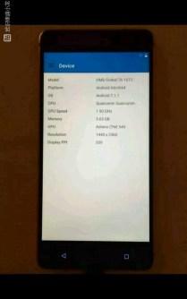 Nokia 8 leaked image 1