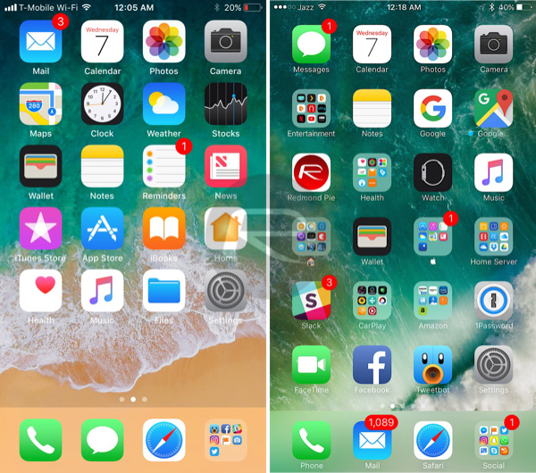 Best / Top free Android launchers with iOS look in 2018  Download links