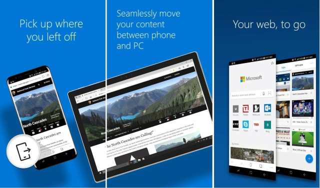 Microsoft apps on Android in 2018