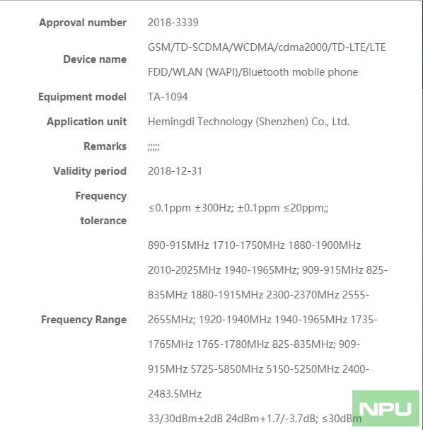 Nokia 9 new render, TA-1094 passes certification & enters Production ...
