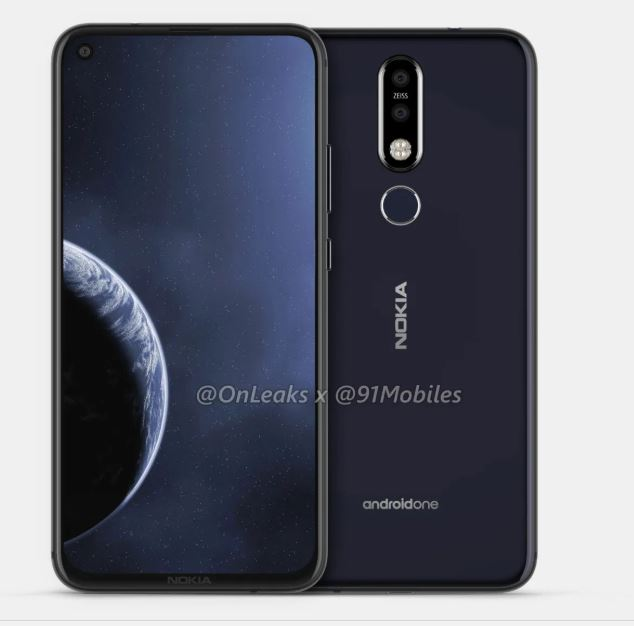 A new Nokia smartphone (Nokia 6.2) with a display hole leaks in 3D Renders & 360-deg video