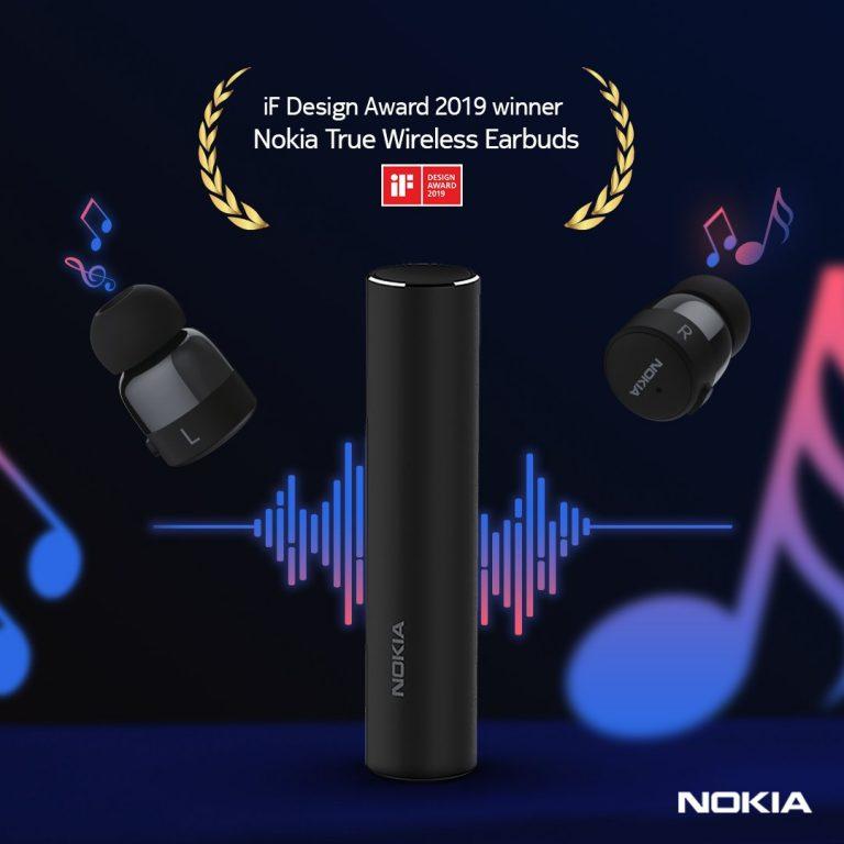 Nokia True Wireless Earbuds win iFDesign Award 2019