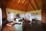 Inside our room at the Ngorongoro Farm House