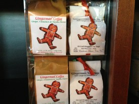 Gingerbread coffee and tea to warm your spirit.
