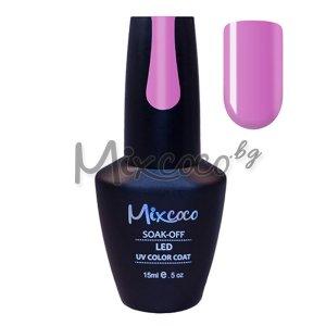 Розово-лилав гел лак Mixcoco