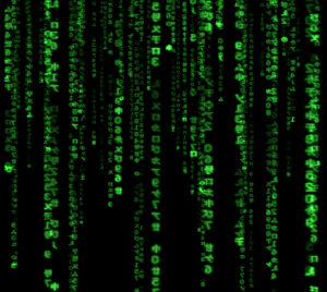 The Matrix as a symbol of the illusion