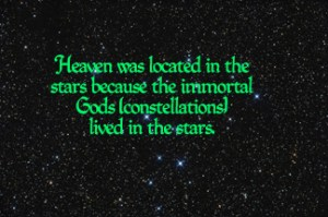 Heaven in the stars