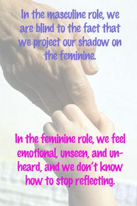 Masculine and feminine roles