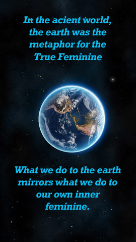 Earth as a mirror of our mind