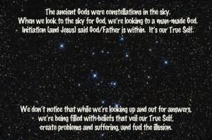 God in the stars
