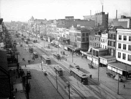 Canal Street, ca 1900, by Alexander Allison (courtesy NOPL)