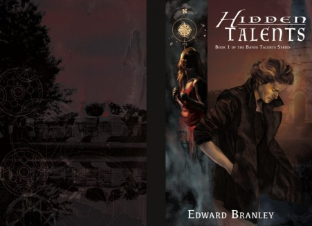 Cover of Hidden Talents, an urban fantasy novel by Edward Branley