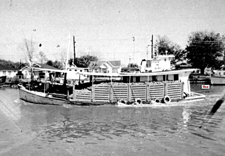 Grand Isle Oyster boat, ca. 1970