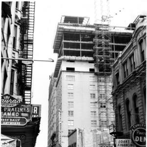 1964 expansion of the hotel (Franck photo courtesy HNOC)