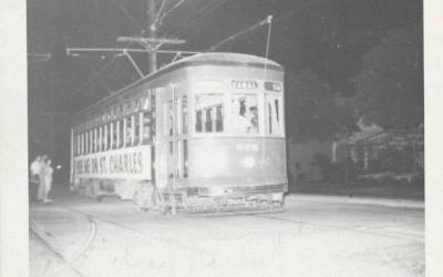 """The """"Last Streetcar"""" on Canal Street – May 31, 1964"""