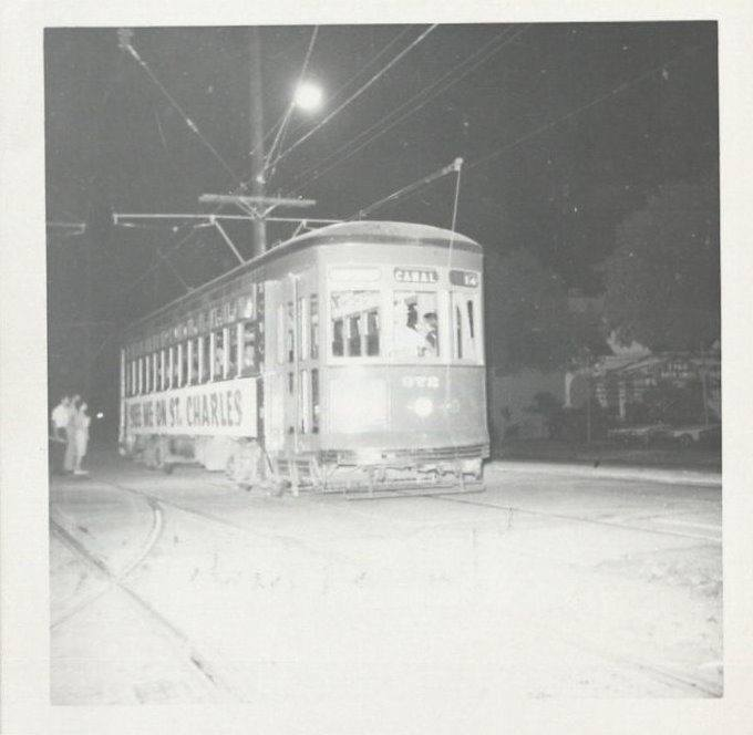 "The ""Last Streetcar"" on Canal Street – May 31, 1964"