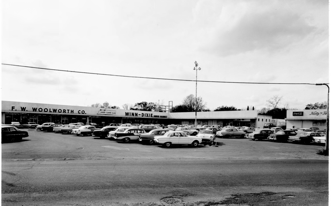 Old Metairie – 800 Metairie Road then and now