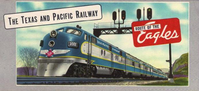 Texas and Pacific Railroad – Train Thursday
