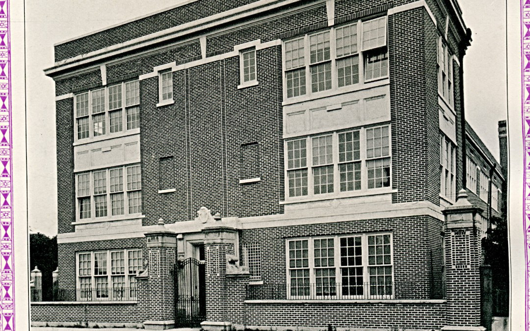 St. Aloysius Panther Yearbook 1933 – N. Rampart Street #BOSHbook