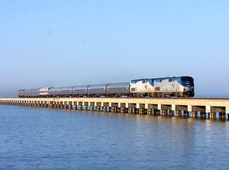 Norfolk Southern Lake Pontchartrain Bridge – longest in the world