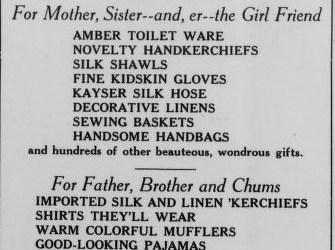 Feibleman's, 1923 – Leon Fellman's family renames his store