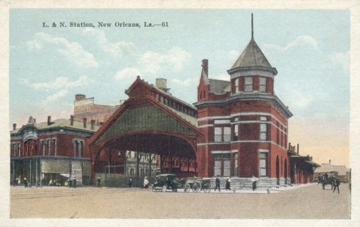 New Orleans History L&N Railroad Station Canal Street