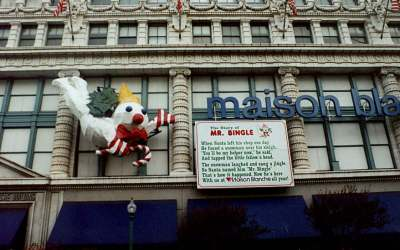 Mr. Bingle on Canal Street dates back to the 1940s