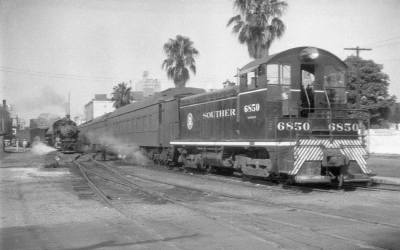 Basin Street  – Southern Railway Switching and Steam #TrainThursday