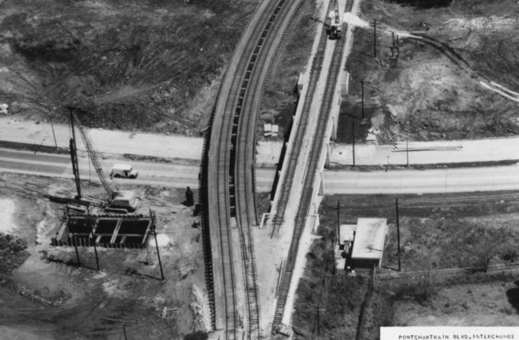Southern Railway – Pontchartrain Expressway #TrainThursday