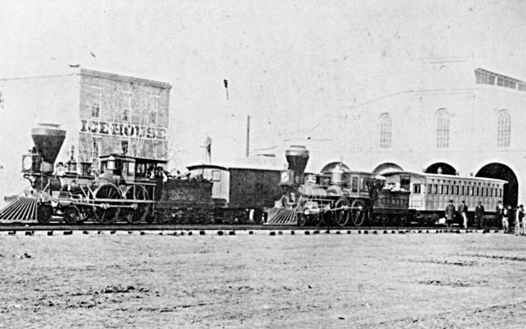 Algiers 1865 – New Orleans, Opelousas and Great Western RR