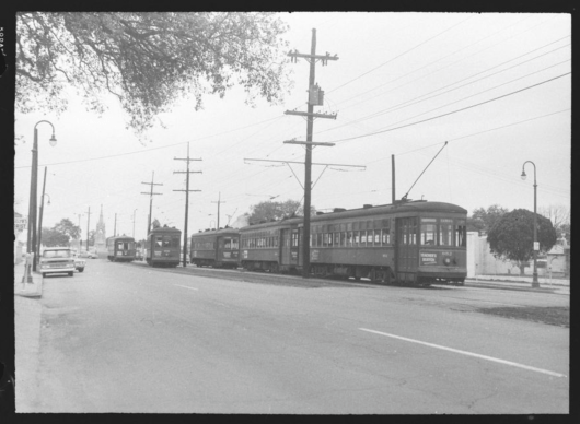 1963 arch roof streetcars