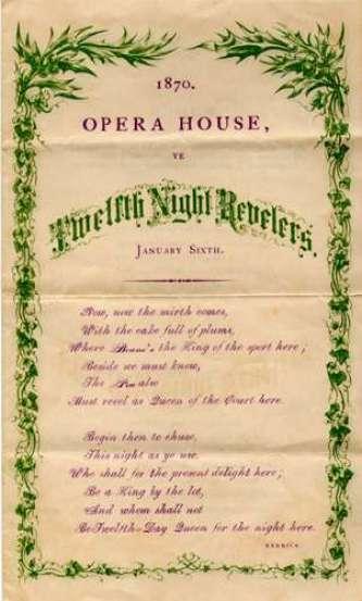 Twelfth Night Reveling