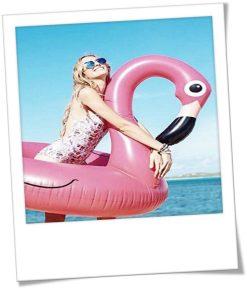 Stem op jouw ultieme Shameless Summer Song & maak kans op deze opblaas flamingo!