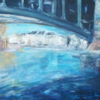 Sous les Pont de Paris   Elisabeth Calmes   Nolan-Rankin Galleries - Houston
