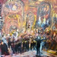 Musique sacrée, concert bulgare   Elisabeth Calmes   Nolan-Rankin Galleries - Houston