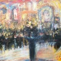 De musique et d'espoir, concert bulgare   Elisabeth Calmes   Nolan-Rankin Galleries - Houston