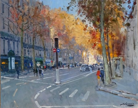 Nolan-Rankin Galleries - Houston   José Salvaggio   Boulevard Saint Germain