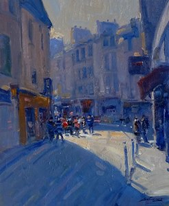Nolan-Rankin Galleries - Houston   José Salvaggio   Rue à Paris-lumière