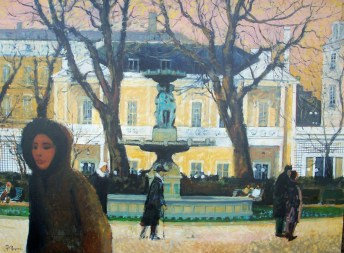 La Foutaine de Cours Margny | Pierre Neveu | Nolan-Rankin Galleries - Houston