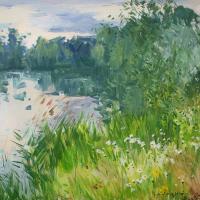 Matin rose du bord du Ruisseau | Paul Jean Anderbouhr | Nolan-Rankin Galleries - Houston