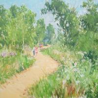 Vacances en Loir et Cher | Paul Jean Anderbouhr | Nolan-Rankin Galleries - Houston
