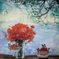 Michel-Henry | oil on paper | Nolan-Rankin Galleries - Houston