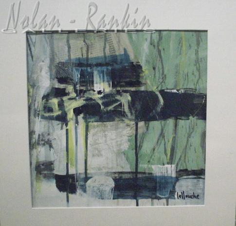 Mixed Media Media #3   Michele Lellouche   Nolan-Rankin Galleries - Houston