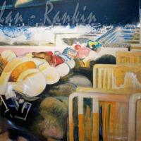 lithograph | Les Departs | Paul Ambille | Nolan-Rankin Galleries - Houston