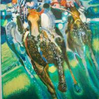 lithograph | Galop | Paul Ambille | Nolan-Rankin Galleries - Houston