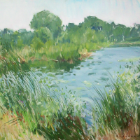 Bord de L'eau | Paul Jean Anderbouhr | Nolan-Rankin Galleries - Houston