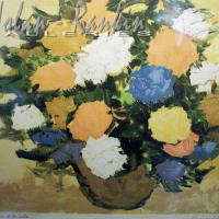 lithograph | Bouquet dore | Renee Theobald | Nolan-Rankin Galleries - Houston